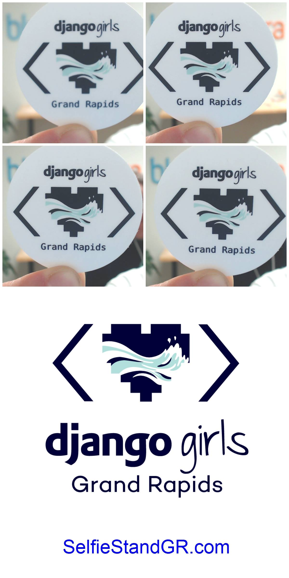 Design of Django Girls logo